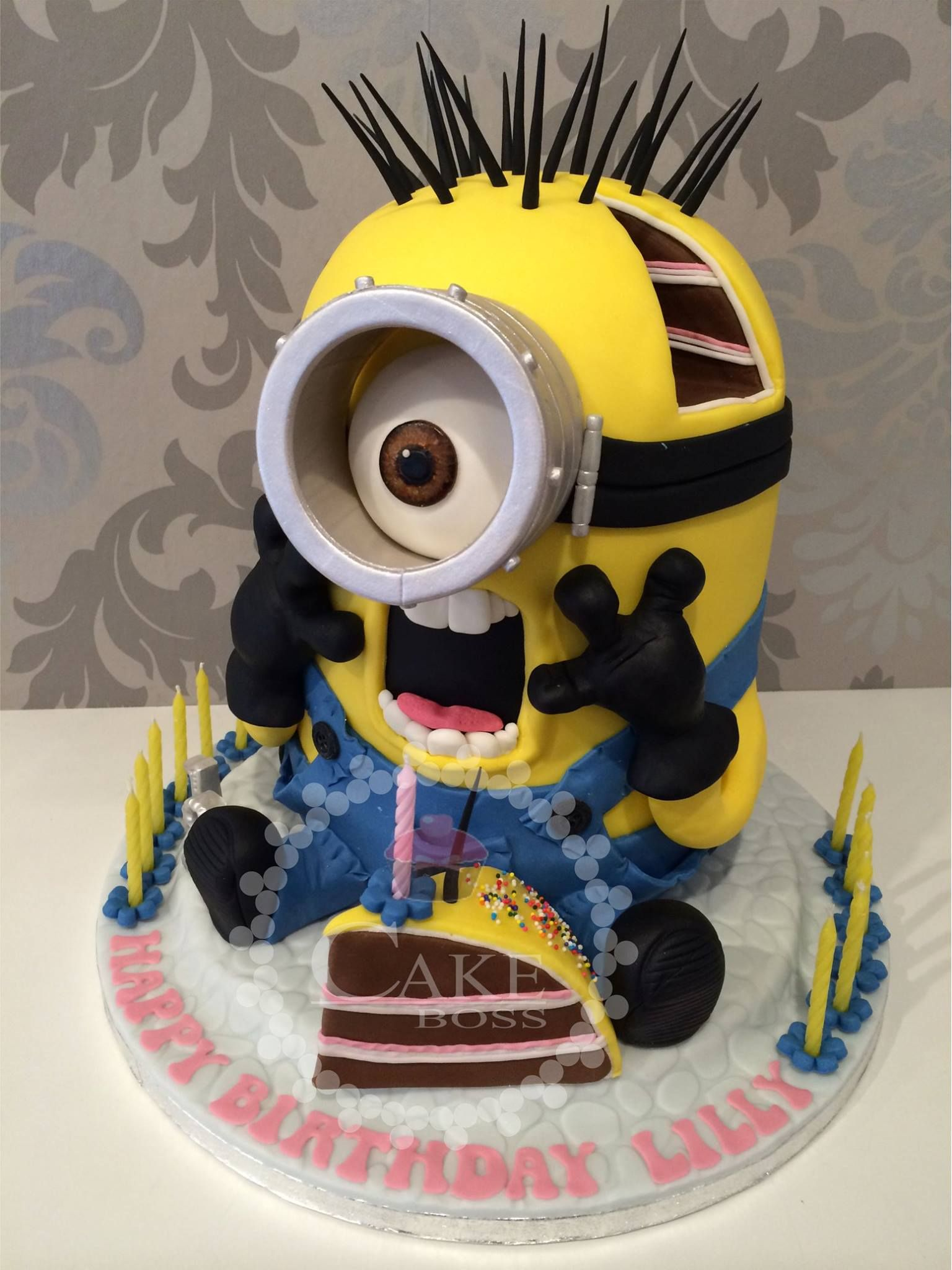 Minion Birthday Cake Emma