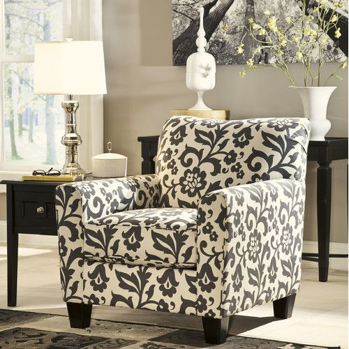 Ashley Hobson Accent Chair Charcoal Accent Chair Printed Accent Chairs Ashley Furniture