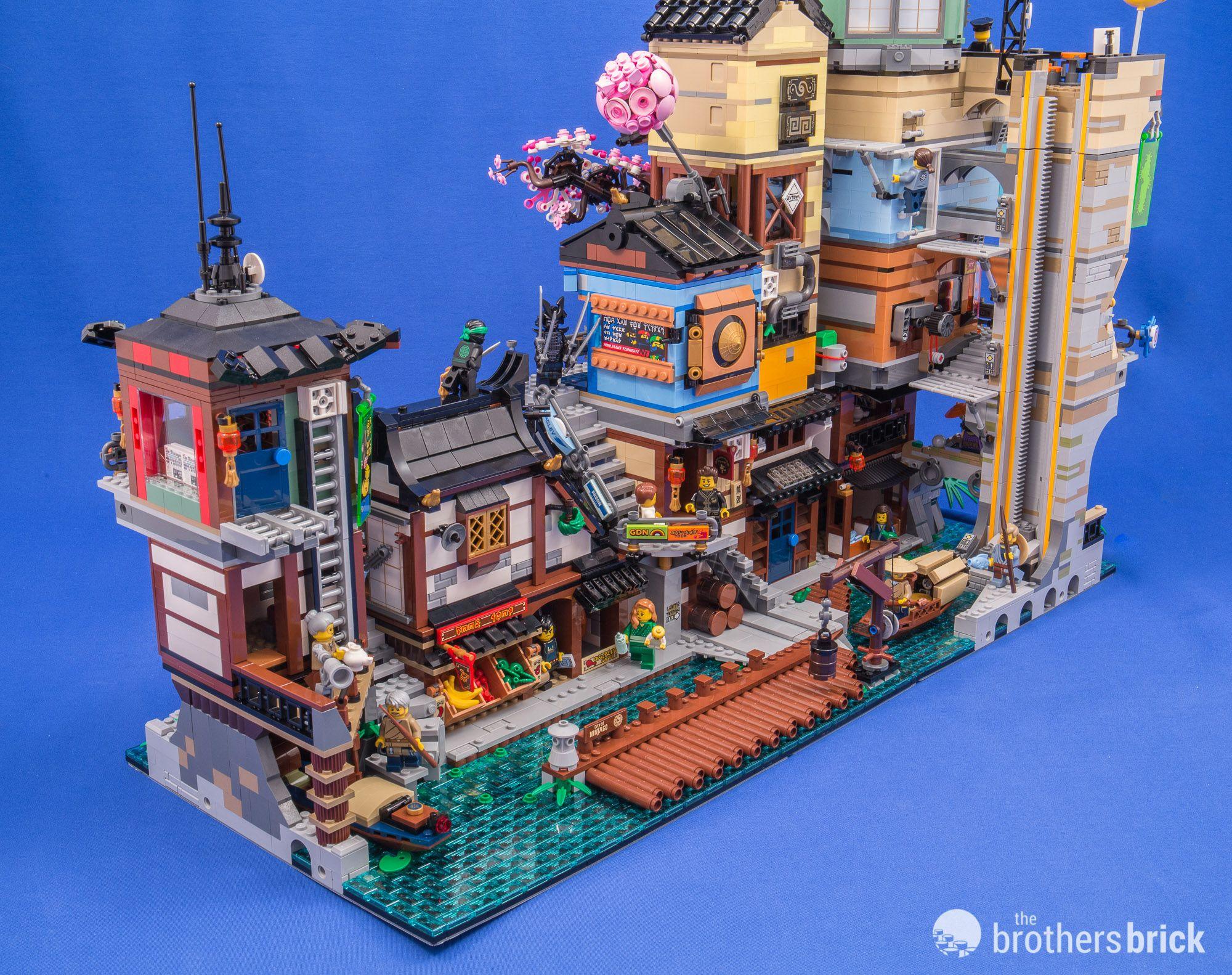 70657 Ninjago City Docks 45 Jpg 2 000 1 582 Pixels Lego Ninjago City Lego Architecture Lego Pictures