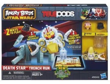 Angry Birds Star Wars Telepods Review Death Star Angry Birds