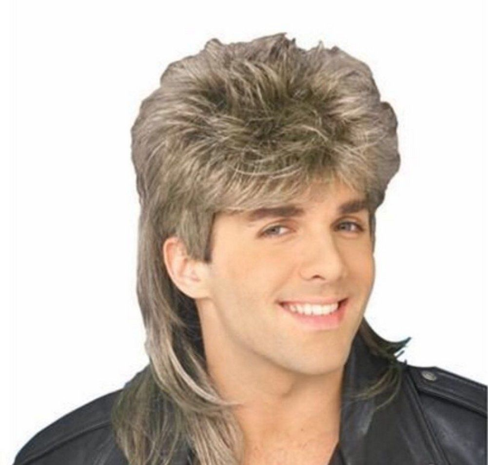 Diy Wig Stylish Mens Retro 70s 80s Disco Mullet Wig Fancy Party Accessory Cosplay Wig Blonde This Is An Amazon Aff Mullet Wig Cosplay Wigs Blonde Diy Wig