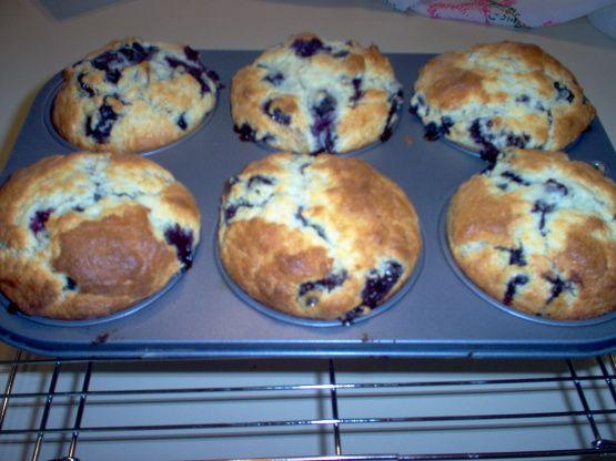 Blueberry Buttermilk Muffins Recipe Food Com Recipe Buttermilk Blueberry Muffins Moist Blueberry Muffins Muffin Recipes