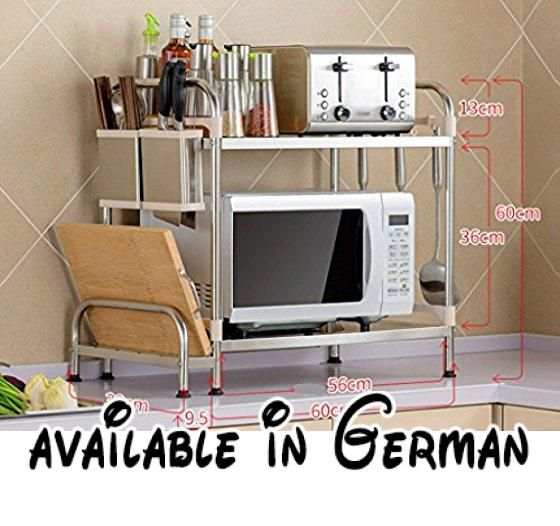 B0764HNNYD  LZ-SNAIL Küchenzubehör Würze Lagerung Rack Edelstahl - schöne mülleimer für die küche