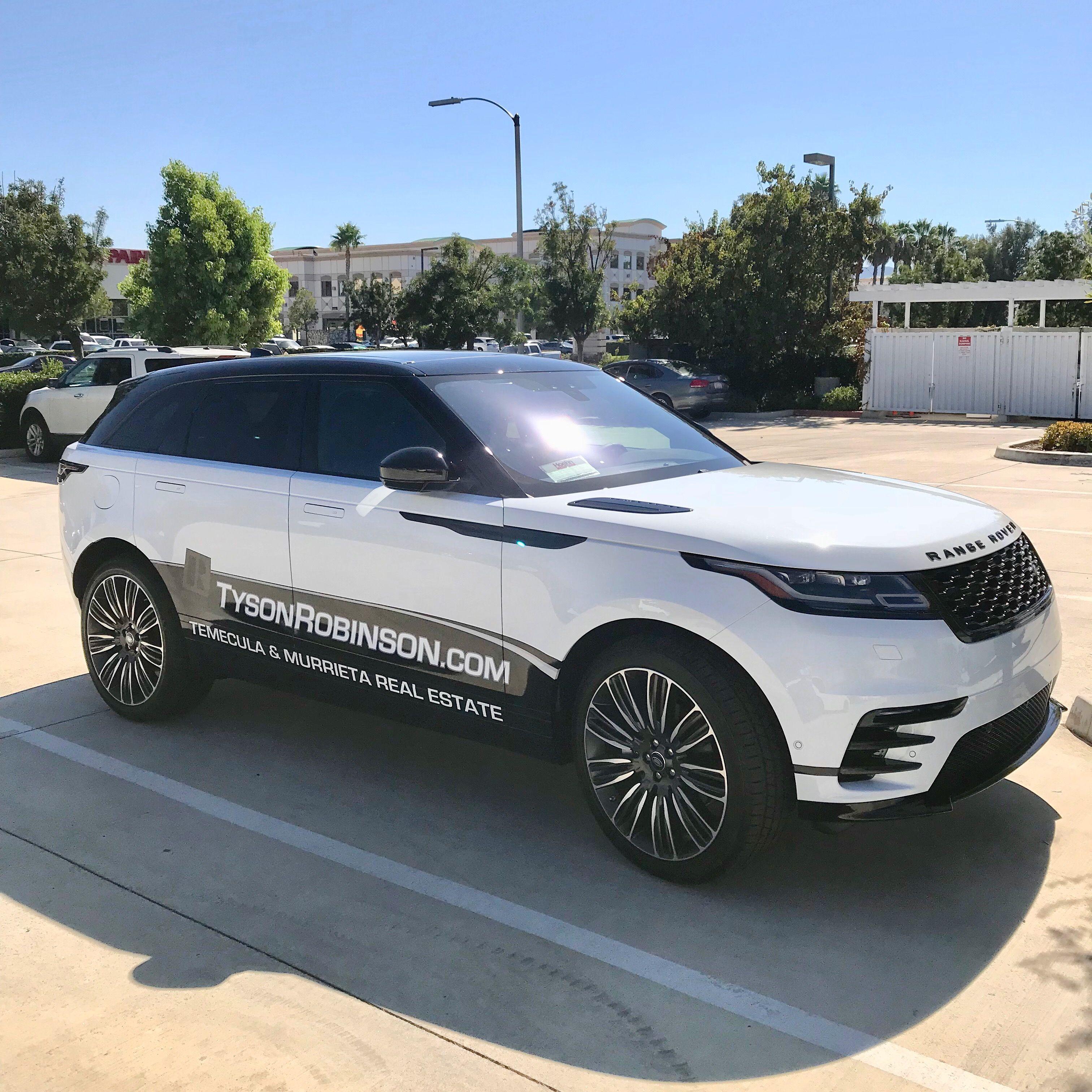 2018 Range Rover Velar With Wrap Www Tysonrobinson Com Vinyl Wrap Car Range Rover Kia Stinger