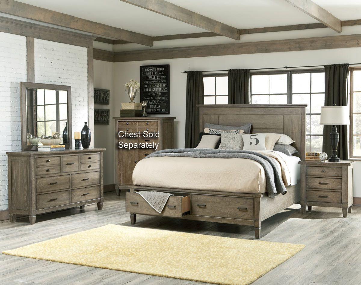 Best Legacy 4 Piece Queen Bedroom Set Rustic Bedroom 400 x 300