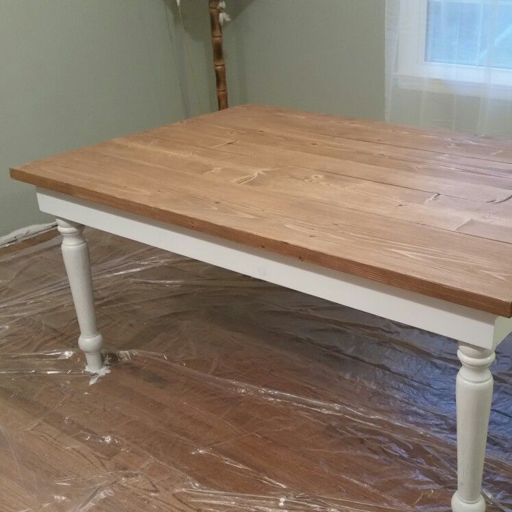 Country farm house table...homemade