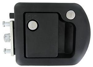 RV Designer T507 Trimark Black Entry Door Lock with Dead