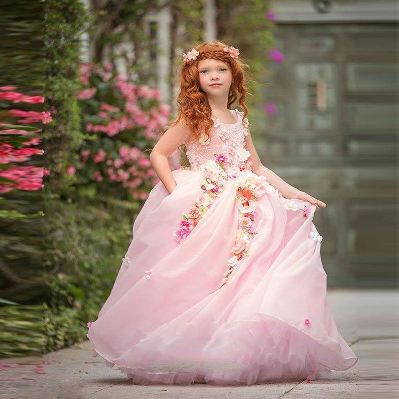 Cheap flower girl dresses from china