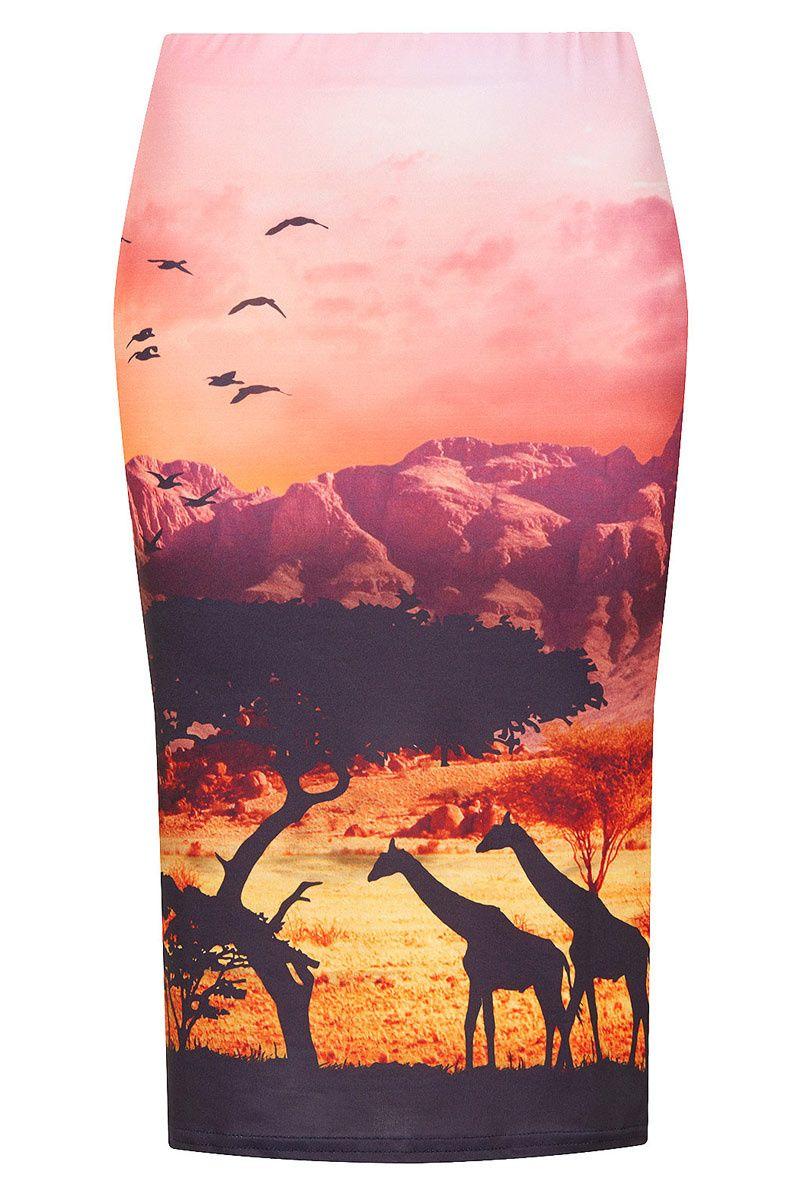 Shopping Dress for less faldas lápiz  Con estampado africano de Topshop 79bee493dd39
