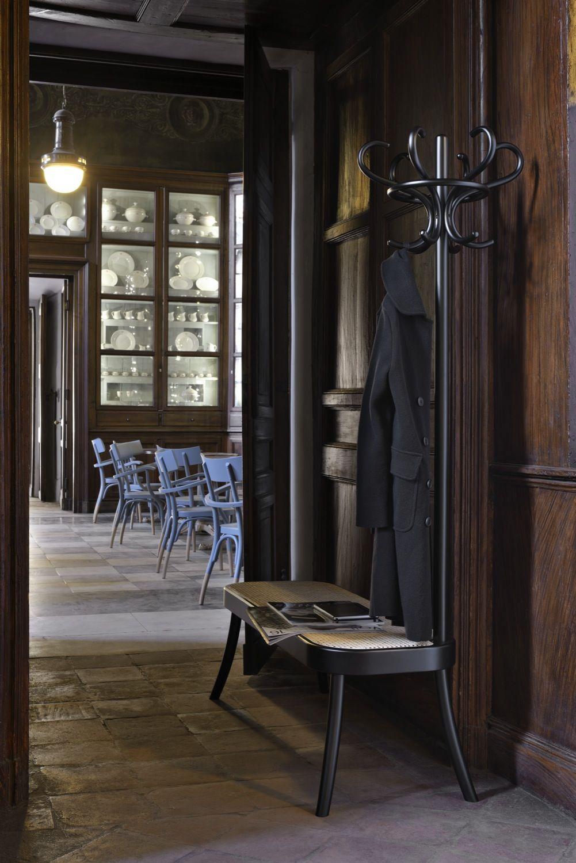 Coat Rack Bench Gebrüder Thonet Vienna Kitchen Base Cabinets Building