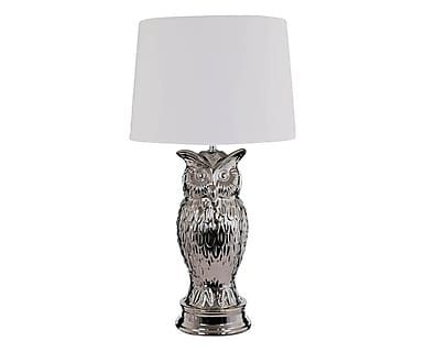 Lámpara de sobremesa Owl, blanco - altura 64 cm, altura 64 cm