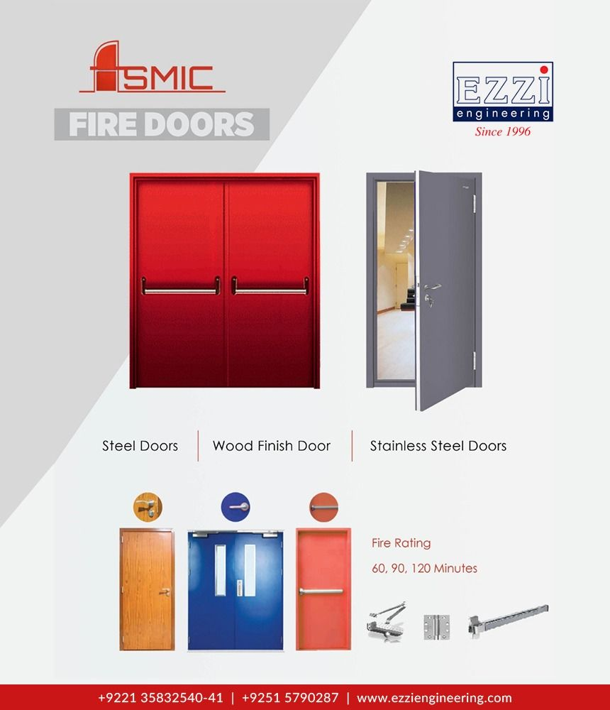 Fire Rated Doors Were Designed With Fire Protection Noise Reduction And Durability For More Information Visit Ht In 2020 Fire Doors Fire Rated Doors Locker Storage