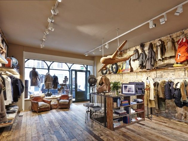 cd5474cfd3c1 Inside the new Nigel Cabourn Store London • Selectism