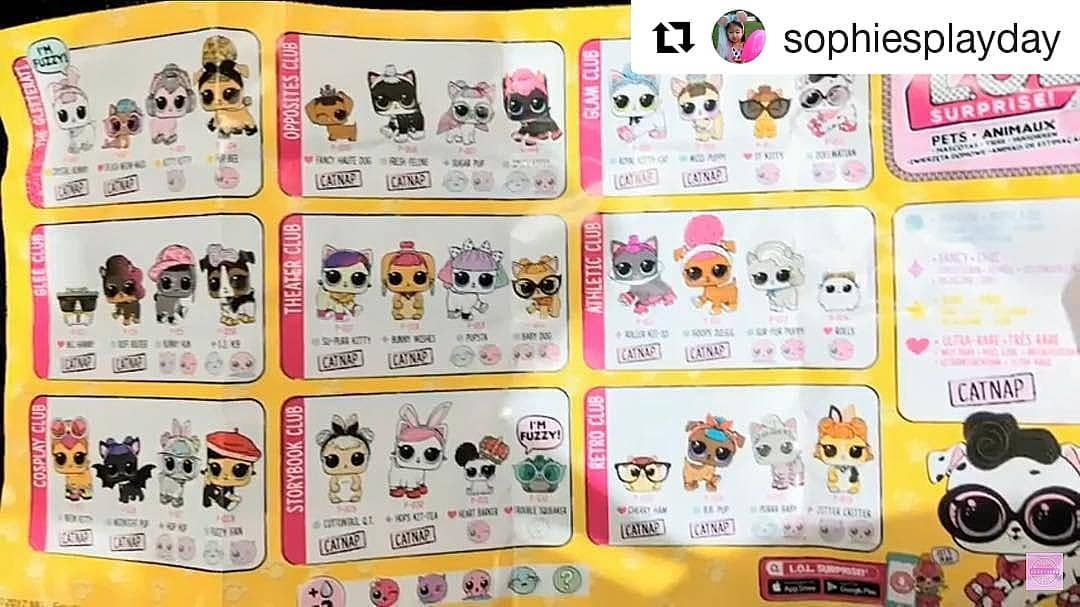 Lol Surprise Pets Wave 2 Checklist Has Surfaced The Web Can U Make Out What Their Names Are Lolsurprisepets Lolsurprisedolls Loldolls Lol Dolls Lol Pets