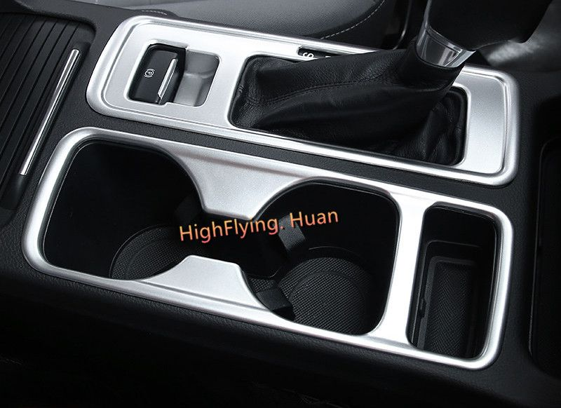 For Left Hand Driving Car! 1PCS ABS Matte Interior Front Cup