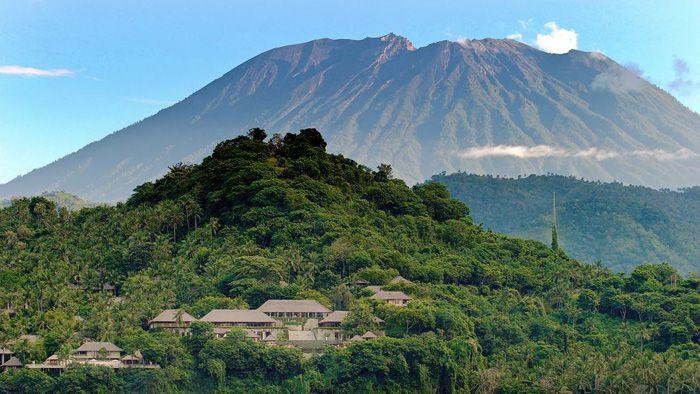 バリ島 アグン山