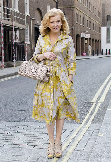 678e05c57cb The dress and shoes are lovely... Needs a belt and change of handbag to be  perfect for me.