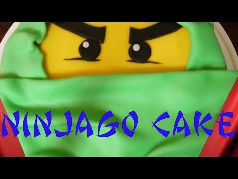 Mein Rezept Und Anleitung Fur Eine Motivtorte Lego Ninjago Green