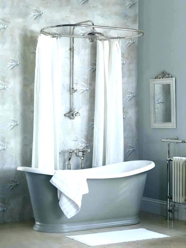 Pin By Whitney Henderson On Diy Projects Crafts How To S In 2020 With Images Freestanding Bath With Shower Freestanding Tub Shower Corner Bath Shower
