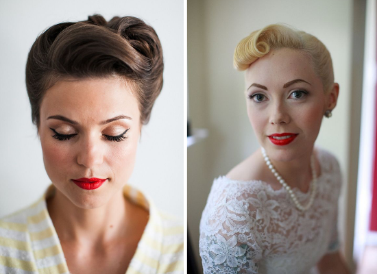 Image Result For Rockabilly Makeup For Wedding In 2019 1950s