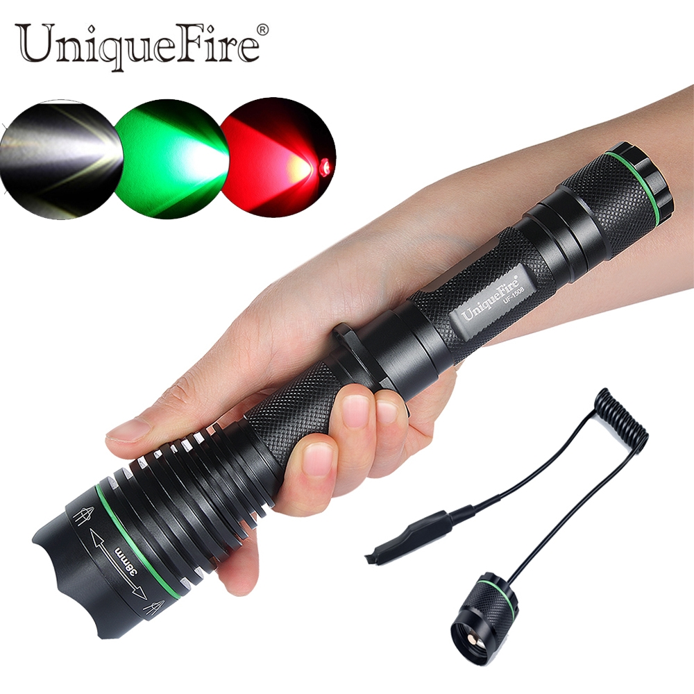 (33.29$)  Watch here - http://aitui.worlditems.win/all/product.php?id=32789820245 - Uniquefire Adjustable Led Flashlight 1508-XRE 38mm Convex Lens Zoom 3 Modes Rechargeable Lamp Torch+Remote Pressure To Hunting