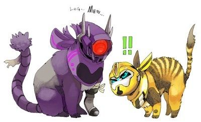 Kittyformers! Shockwave is that classical do not pet kind of