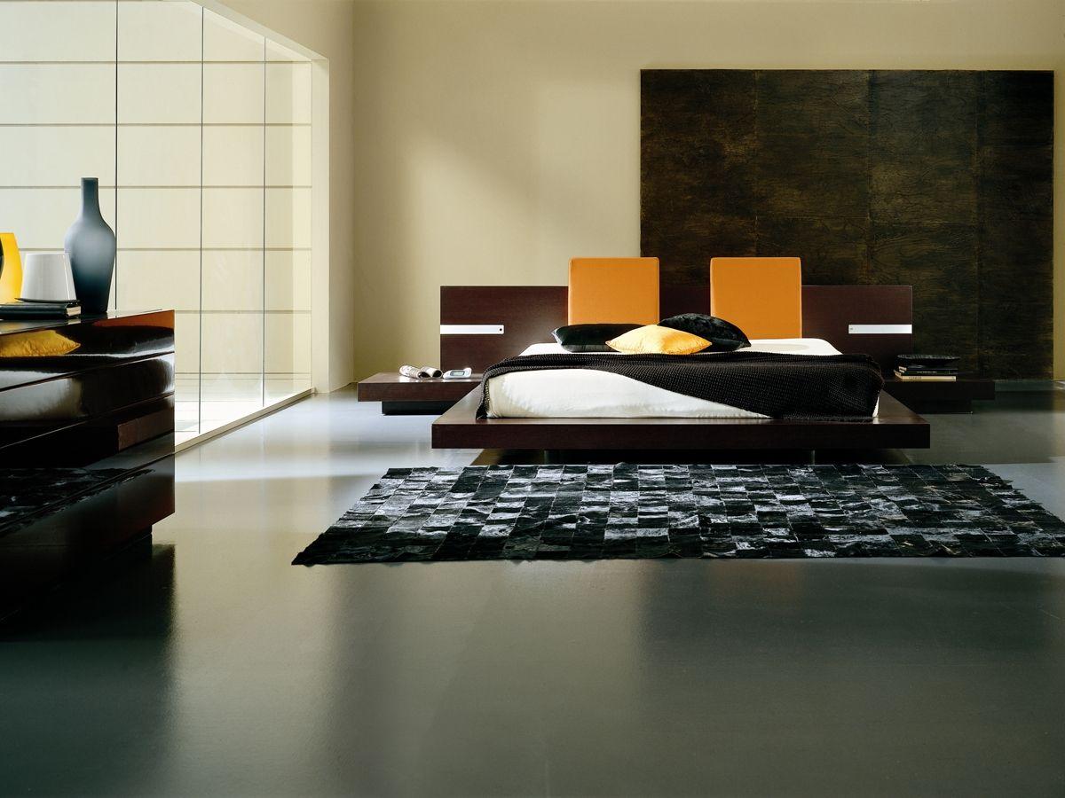 Floating Platform Bed Asian Bedroom Decor