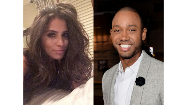 Spring Flings: Favorite New Couples | Terrence J and Nicole Isaacs