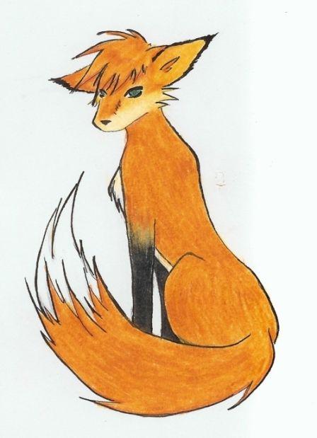Fox Humanoid Drawings Google Search Art Creations I