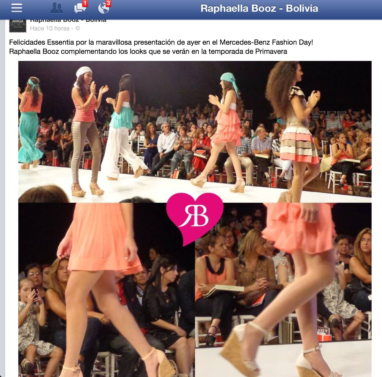 Essentia look perfecto gracias Raphaella Booz