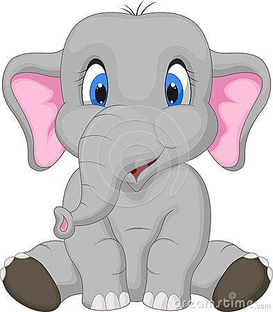 Cute Elephant Cartoon Sitting Cute Elephant Cartoon Cartoon Elephant Elephant Clip Art