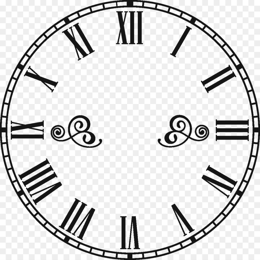 Wajah Jam Jam Angka Romawi Gambar Png Angka Romawi Jam Jam Dinding