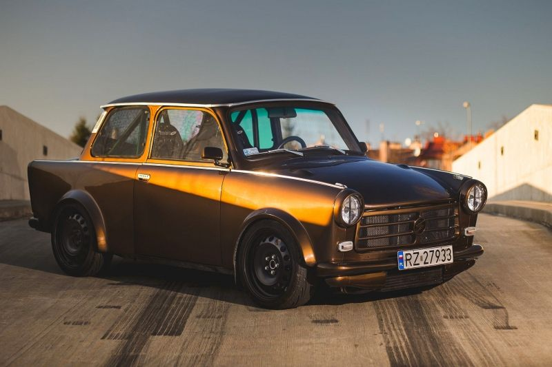 Trabant Turbo Quattro Trabi Pinterest Cars Audi Tt And Girl Car