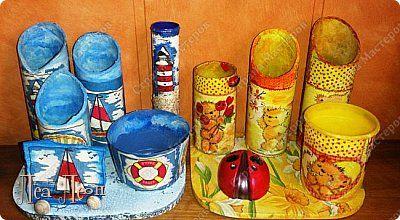 Декор предметов День рождения Декупаж Кракелюр Органайзеров много не бывает  Бутылки пластиковые Клей Краска Материал бросовый Салфетки фото 1