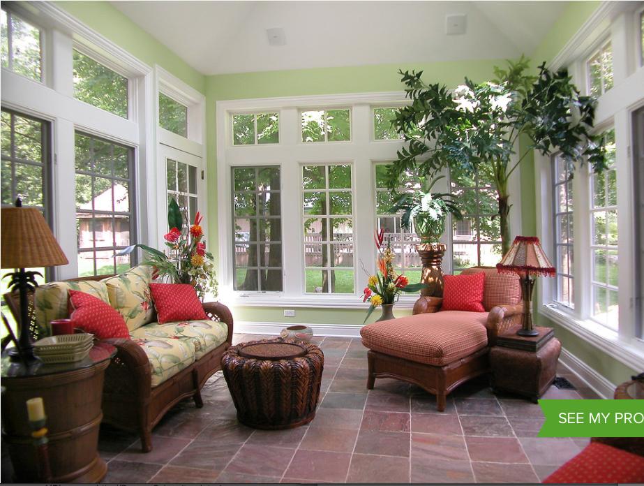 Tropical Sunroom Houzz Com Sunroom Designs Morning Room Home