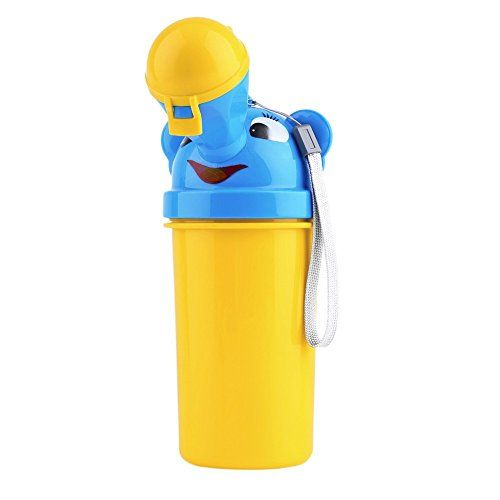 Portable Kids Baby Urinal Potty Bottle Emergency Toilet for Camping Car Travel