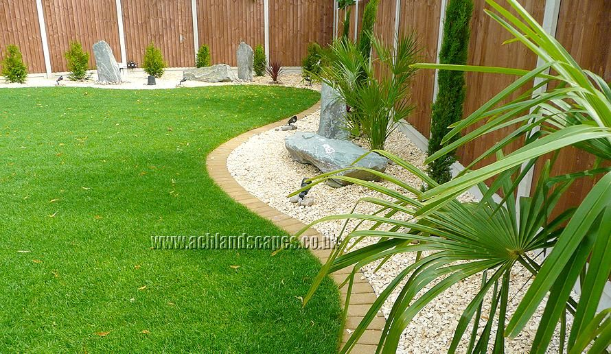 Garden design ideas uk 450 for Landscape layout ideas