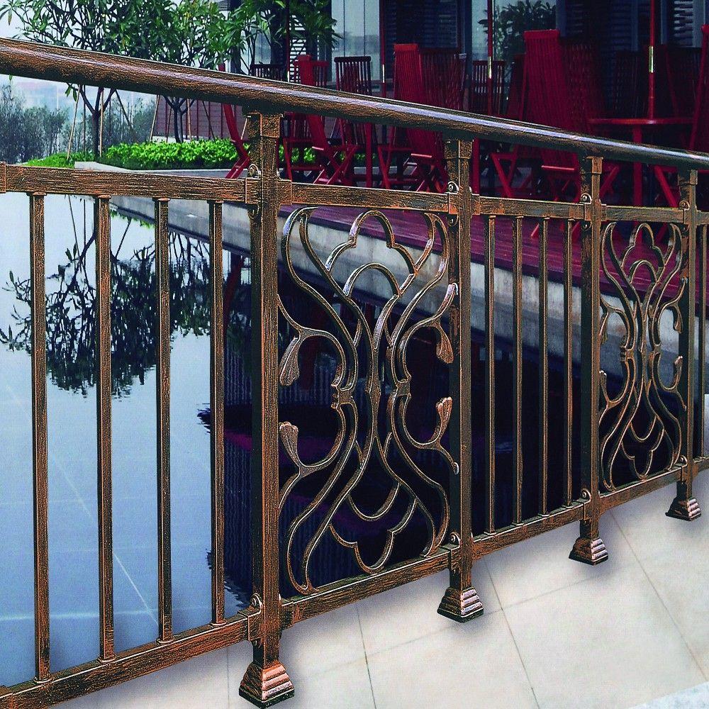 modern design ms vierkante pijp balkon reling afbeelding balustrades en leuningen product