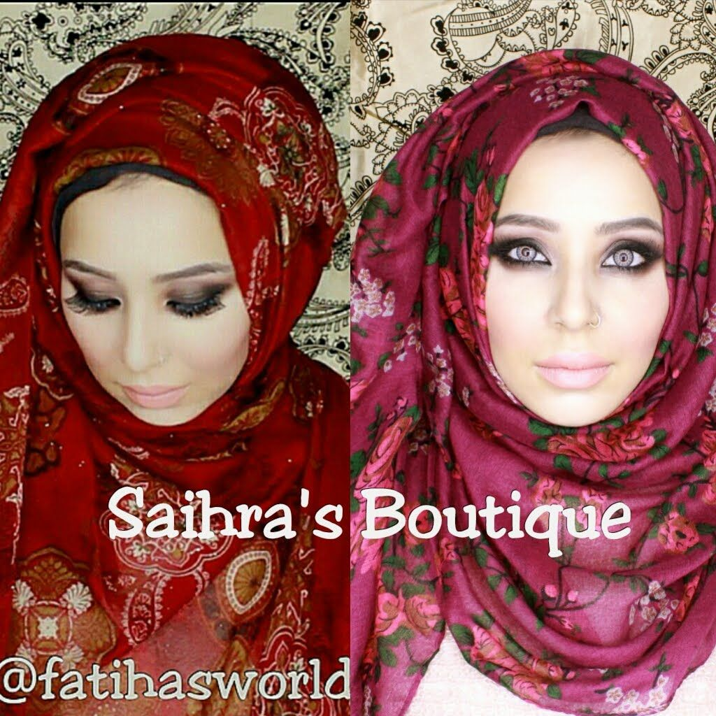 Hijab Review With Tutorials Saihras Boutique By FatihasWORLD