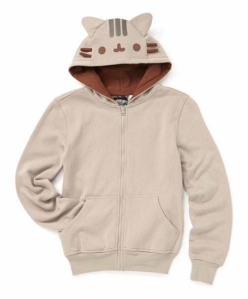 Look at this Gray Pusheen Costume Hoodie - Adult on #zulily today!