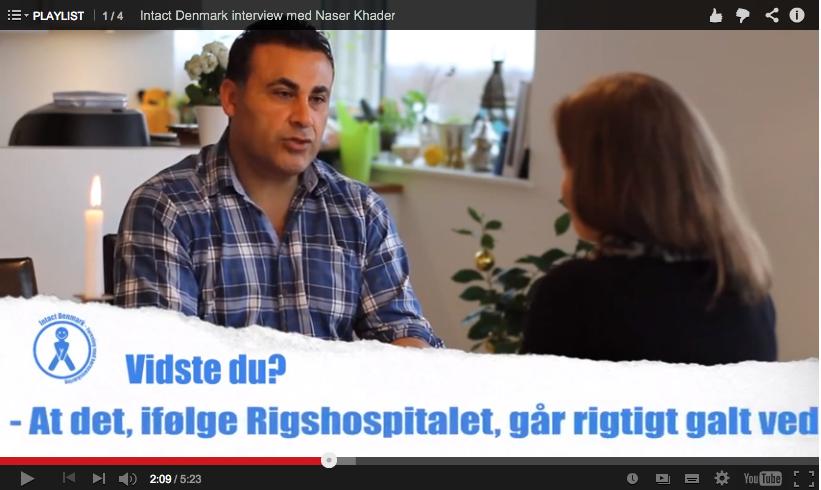 Naser Khader har været så venlig at dele sin holdning til drengeomskæring med Lena Nyhus, forkvinde for Intact Denmark i et eksklusivt interview. Han fortæller, at det er vigtigt at islam e