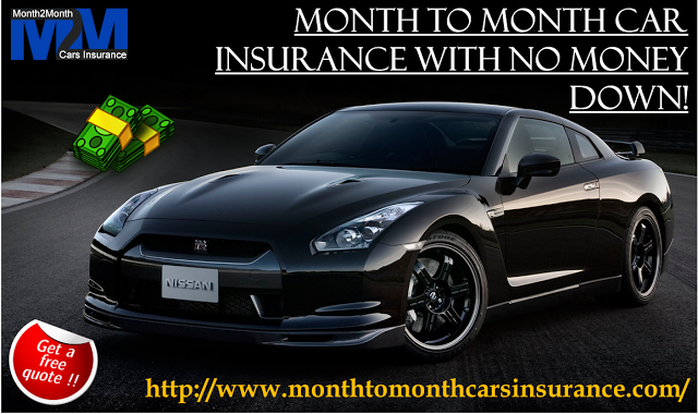 Month To Month No Down Payment Car Insurance With No Credit Check
