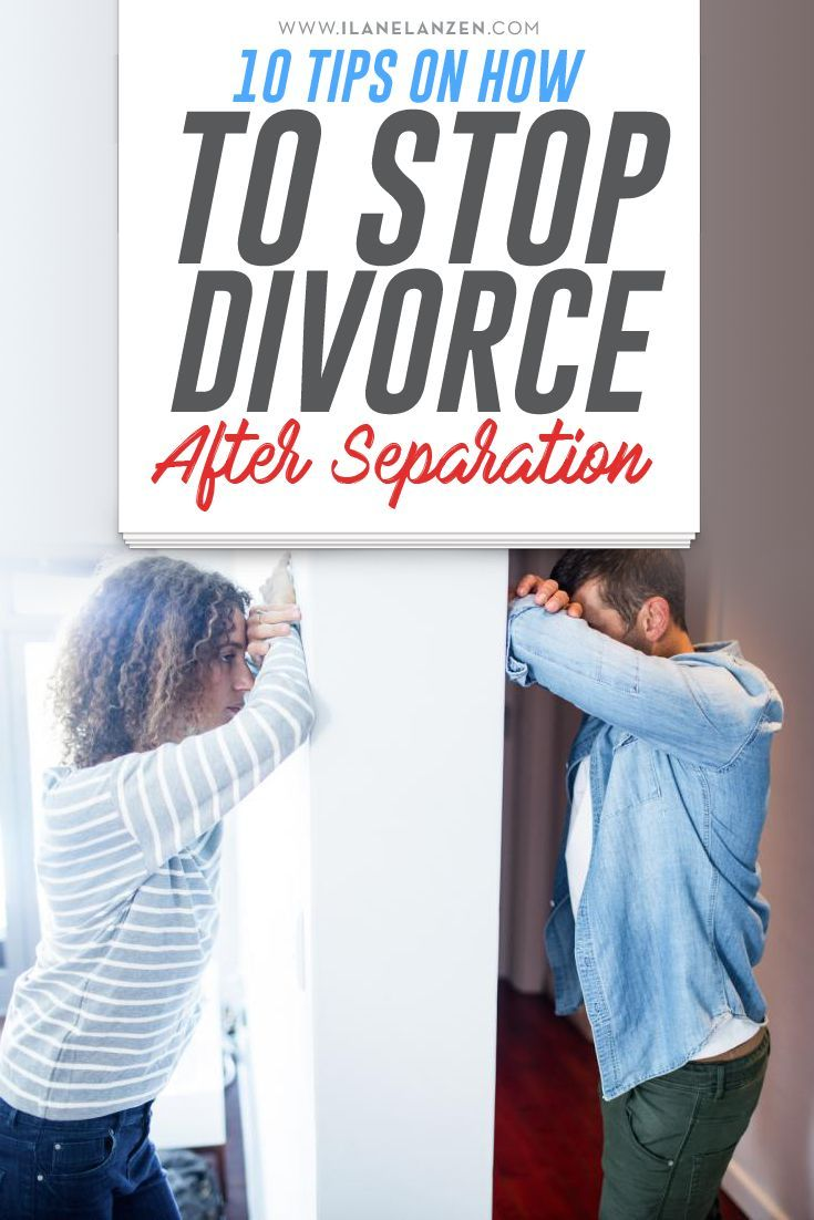 what to do after separation from spouse