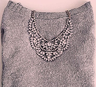 Love Story Statement Necklace - Happiness Boutique