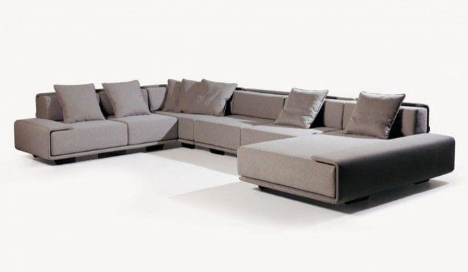 Svensson Large U Shape Modular Sofa Shafa Couch Design