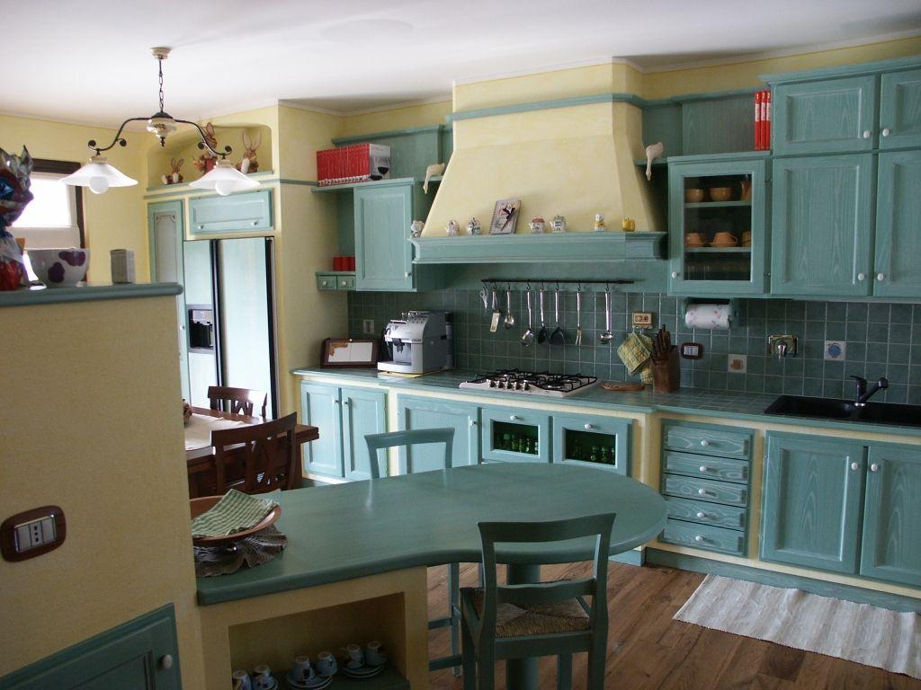 Gallery of cucina finta muratura frassino - Angolo Cucina In ...