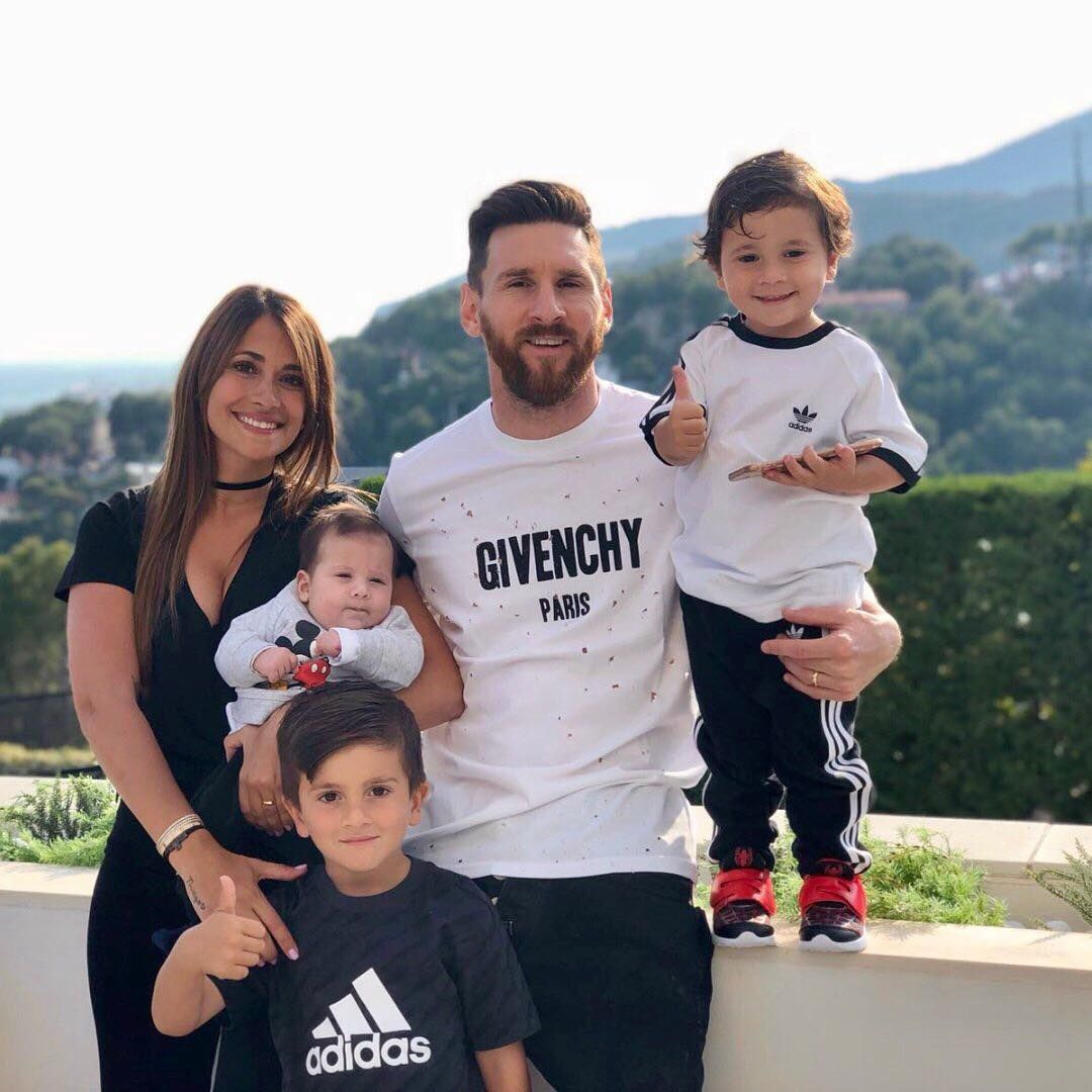 Image result for Messi with family