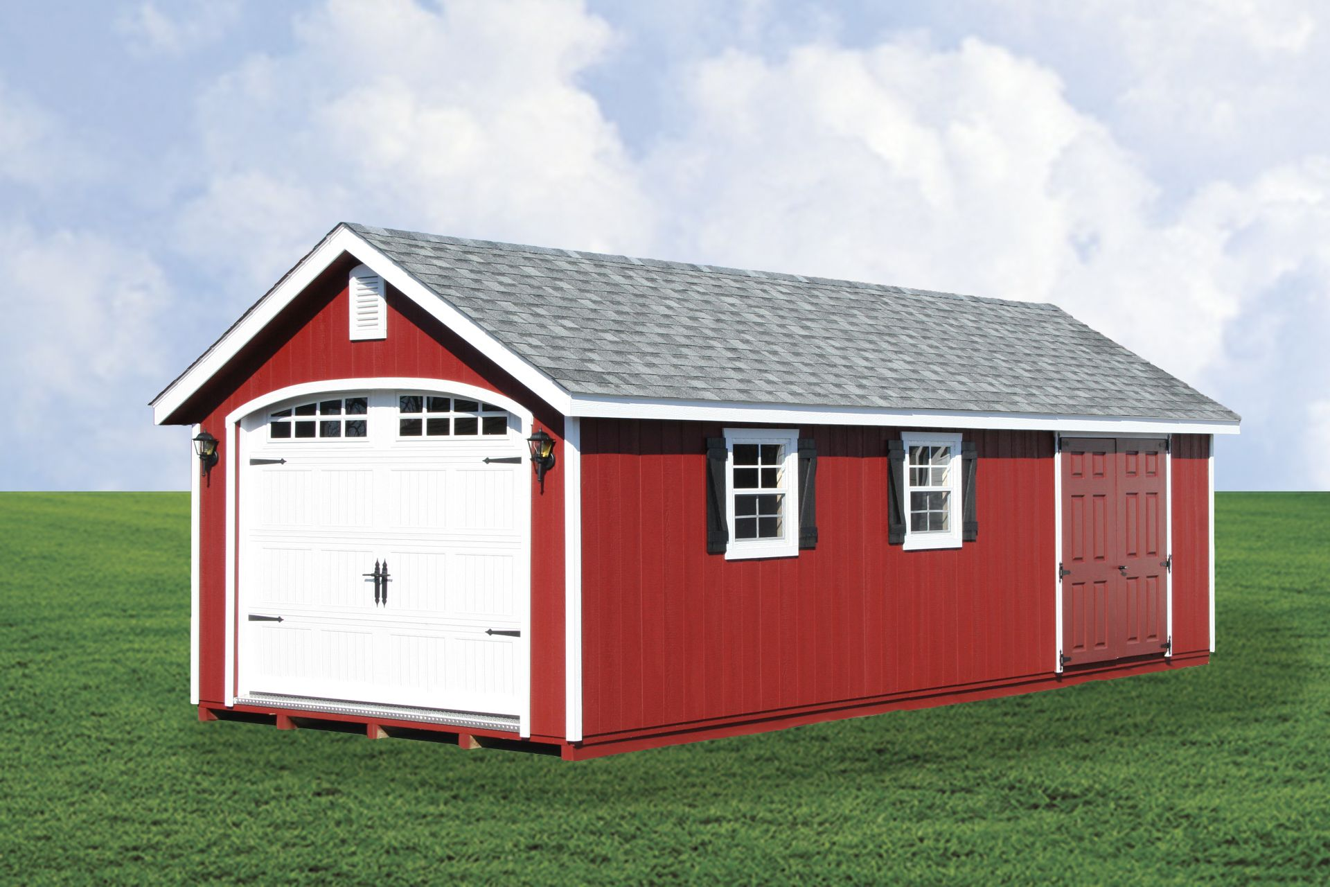 Best This 14X28 1 Car Garage Is Upgraded With Our Garden 640 x 480