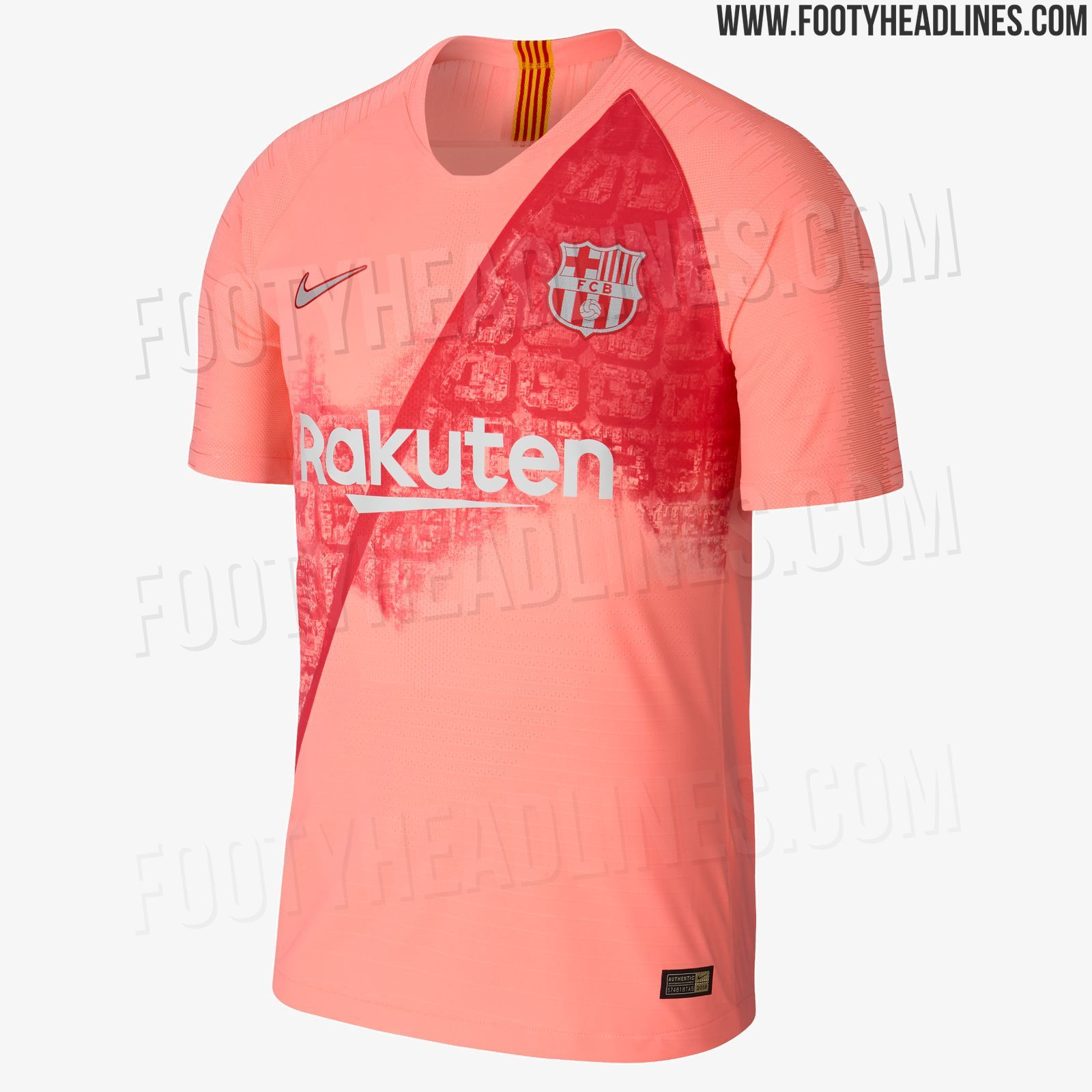 801a0a78792cec Nike FC Barcelona 18-19 Third Kit Released - Footy Headlines ...