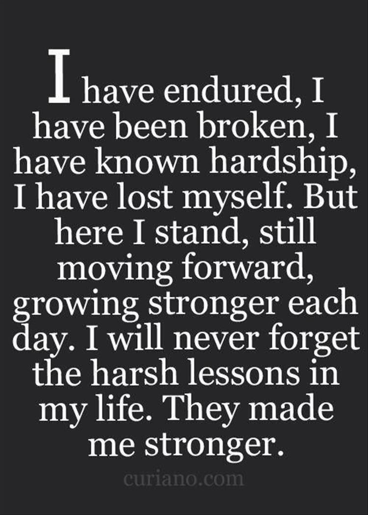 Stronger Quotes Quotes Of The Day  11 Pics  Quotes  Pinterest  Move Forward .